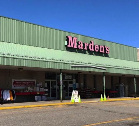 Mardens Surplus store